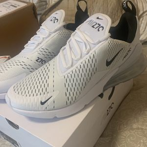 Nike Air Max 270! Brand New White. 12.5 for Sale in Oklahoma City, OK