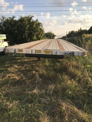 2000 flatbed trailer for Sale in Miramar, FL