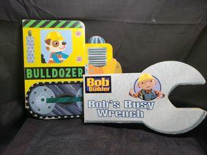 2 board books bulldozer & bob the build busy wrench . for Sale in Zanesville, OH