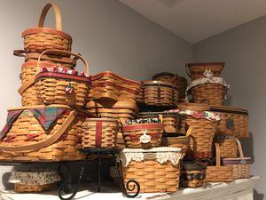 Longaberger Basket Collection for Sale in Stratford, CT