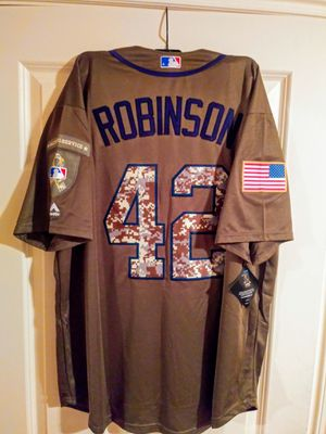 La dodgers jersey new with tags. Jackie robinson for Sale in Lake Forest Park, WA