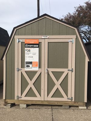 Tuff Shed Display For Sale Mesquite Home Depot 8x10 for Sale in Mesquite, TX