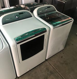 WHIRLPOOL CABRIO WASHER AND DRYER SET for Sale in Highland, CA