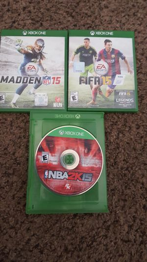 Xbox one game disc firm price for Sale in Las Vegas, NV