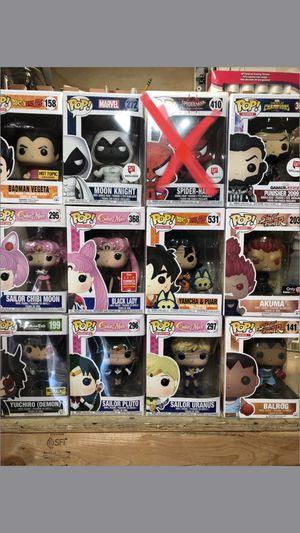 Funko pops prices in description for Sale in Los Angeles, CA