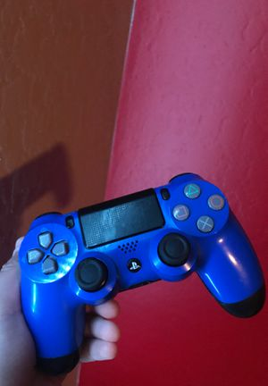 Blue and black ps4 controllers. for Sale in Peoria, AZ