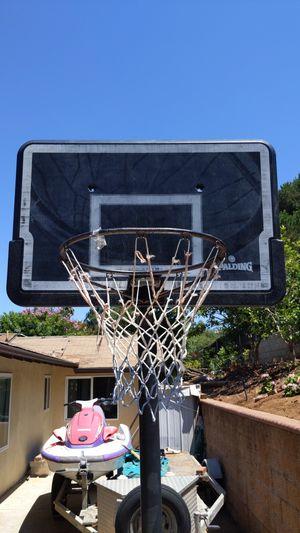 Spalding basketball hoop for Sale in Vista, CA