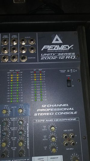 Peavey 12 channel mixer for Sale in Long Beach, CA