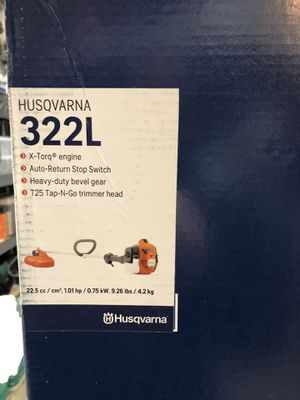 Husqvarna 322L Gas Trimmer - New for Sale in Oregon City, OR