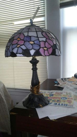 Tiffany Lamp And Vase for Sale in East Cleveland, OH