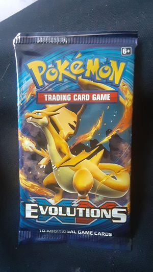Pokemon evolutions xy charizard pack for Sale in Los Angeles, CA