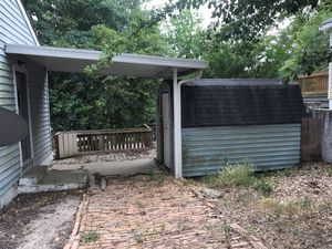 Porch cover and shed for Sale in Columbia, SC