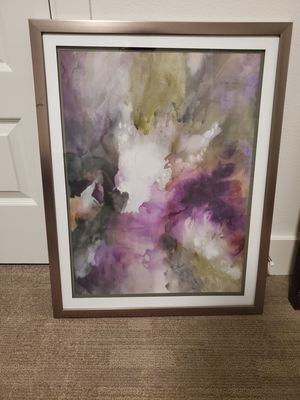 Framed modern piece for Sale in Plano, TX