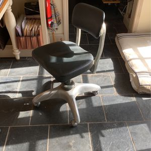 Cool Vintage Office Chair Back Support Black for Sale in Dunwoody, GA