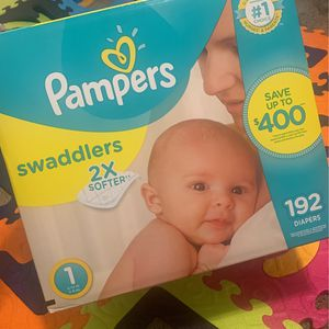 Diapers Size 1 for Sale in Las Vegas, NV