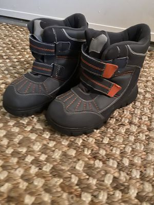 """Kids """"the childrens place"""" rain snow boots size 4 very gently used for Sale in San Diego, CA"""