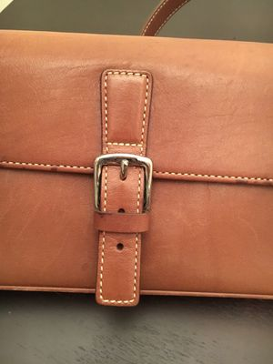 Coach Brown Leather Purse for Sale in Tennerton, WV