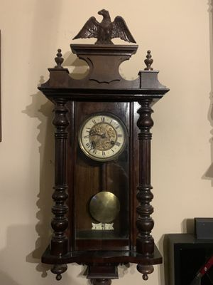 Antique Junghans German Wall Clock. for Sale in Buda, TX