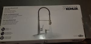 Kohler semiprofessional kitchen faucet & soap dispenser for Sale in Springfield, VA