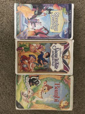 Disney VHS Tapes for Sale in Fullerton, CA