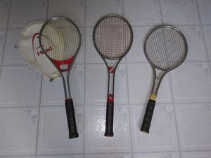 Lot of 3 Tennis Racquets Rackets - Wilson - Head for Sale in Castro Valley, CA
