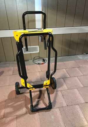 "Dewalt 10"" table saw stand. for Sale in Moss Beach, CA"
