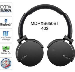 NEW Sony MDRXB650BT Extra Bass Headphones for Sale in Pearland, TX