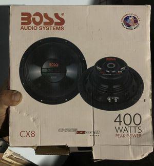 """8"""" boss speaker for Sale in San Leandro, CA"""