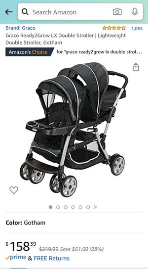 Greco Ready2Grow Double Stroller for Sale in Parma, OH