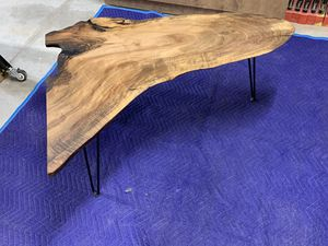 Solid Walnut Live Edge Coffee Table for Sale in Redmond, OR