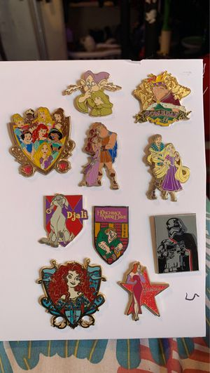 Disney assorted lot fantasy official pins for Sale in Long Beach, CA