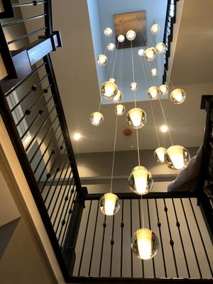 36 light floating candle chandelier new 12 feet long for Sale in Palmetto Bay, FL