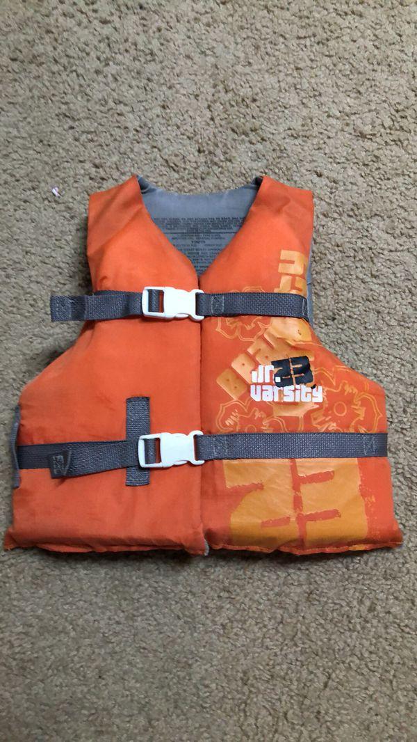 Child life jacket