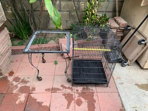 Two piece bird cage for Sale in Norwalk, CA