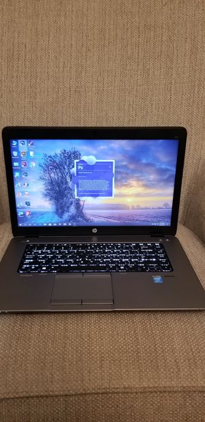 Hp laptop i7 vpro 850 G1/ lot programs professional full/ fast laptop / 📷🔋🔊💽💻⌨🛡 for Sale in Downey, CA