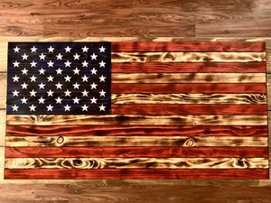 Handmade Rustic American Flag for Sale in Magnolia, DE