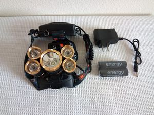 Golden T6 5 LED Headlight for Sale in San Diego, CA