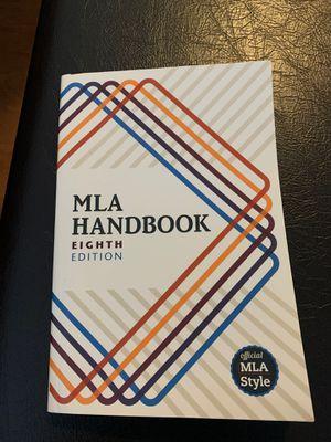 MLA Handbook Eighth Edition for Sale in Yancey Mills, VA