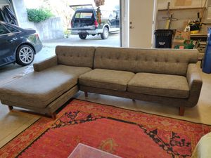 Large mid century sectional sofa/couch for Sale in Seattle, WA