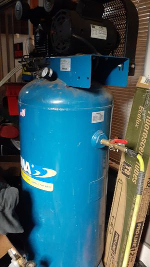 Puma industrial air compressor model PK-6060V for Sale in Portland, OR