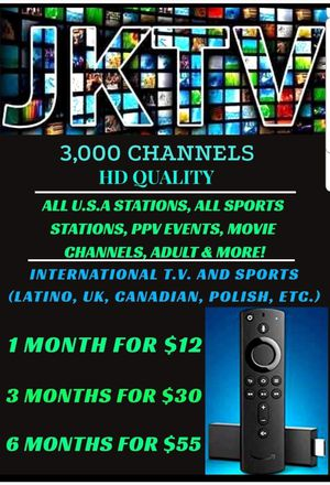 Tv - 3000 channels for Sale in Parma, OH