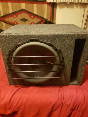 "12"" P3 Subwoofer with built-to-specs box for Sale in Seattle, WA"
