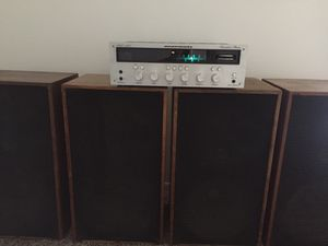Vintage MARANTZ 2230 Reciever WITH matching marantz imperial 7 speakers. FULLY WORKING for Sale in San Diego, CA