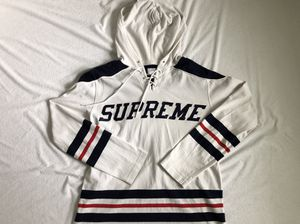 Supreme Hockey Jersey Hoodie Medium for Sale in Manassas Park, VA