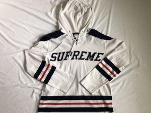 Supreme Hockey Jersey Hoodie Medium for Sale in Manassas Park, VA