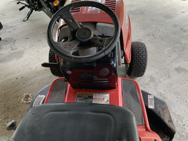 Troy built lawn tractor