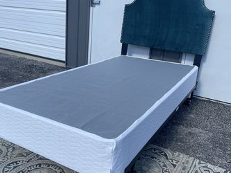 New Twin Size Box Spring , Metal Bed Frame And Headboard for Sale in Columbus,  OH