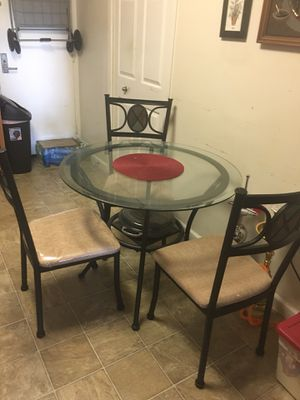 Kitchen table with 3 Chairs for Sale in Alexandria, VA