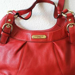 COACH® Cherry Soho Leather Hobo Bag for Sale in Aurora, CO