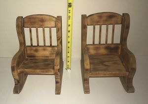 Rocking Chairs for Dolls $5 Each or both for $8 for Sale in Port St. Lucie, FL